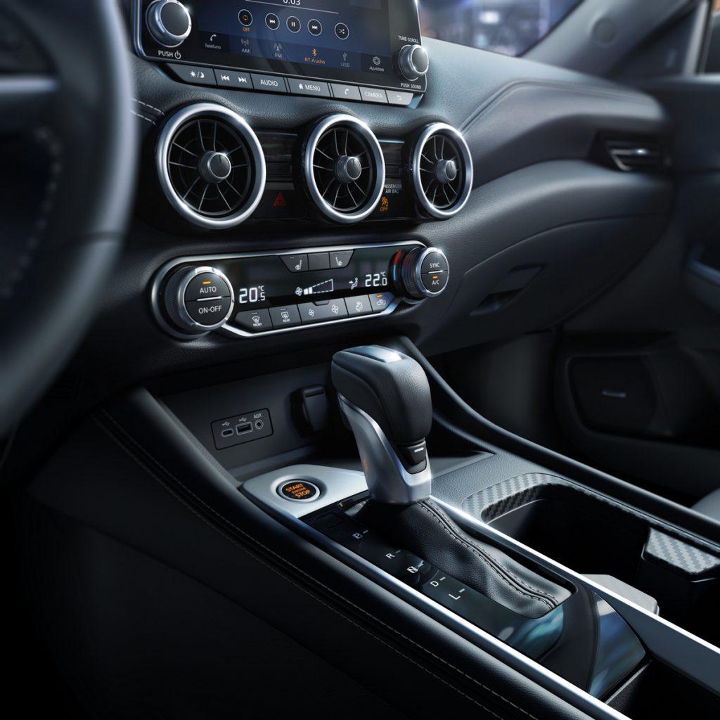Nissan Sentra 2020 tablero