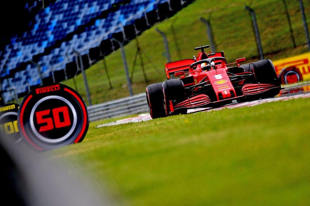 Sebastian Vettel GP de Hungría