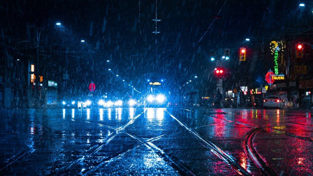 manejo en lluvia