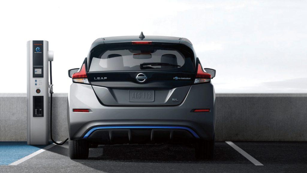 Nissan Leaf recarga autos eléctricos