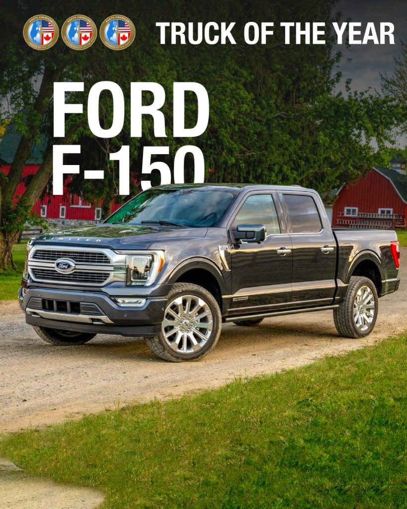 Ford F-150 North American Truck of the Year 2021
