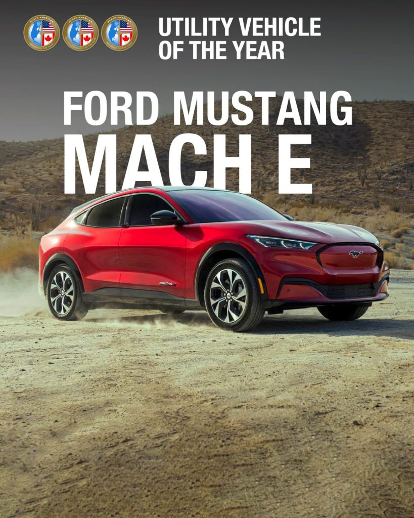 Mustang Mach-E North American Utility of the Year 2021