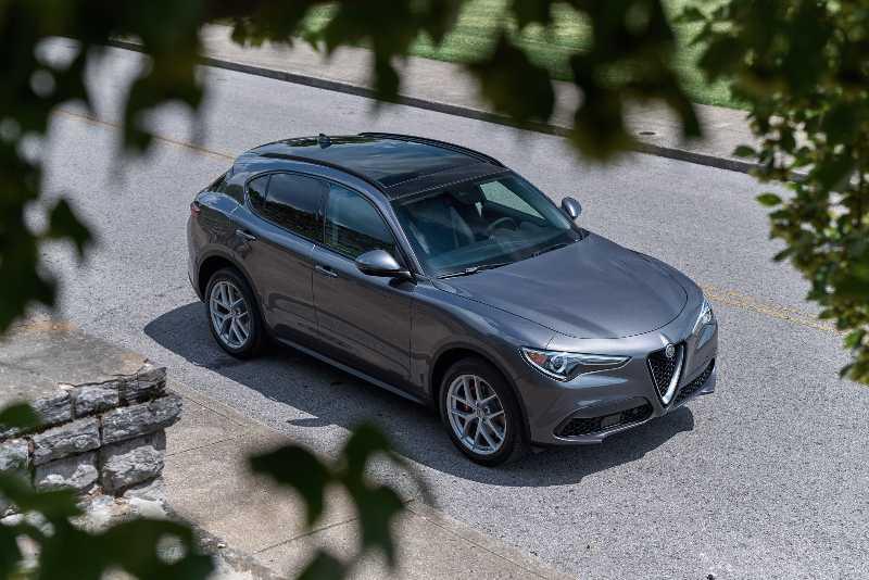 Alfa Romeo Stelvio Lusso 2021
