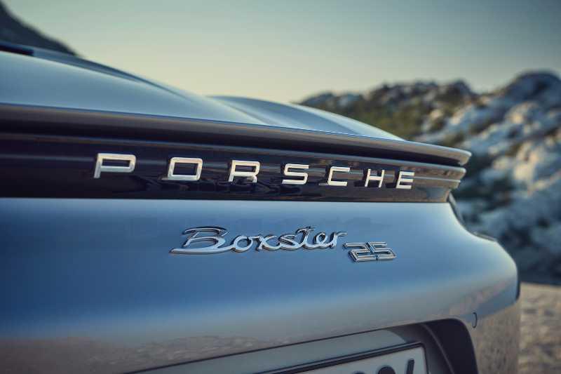 Porsche 718 25 Aniversario